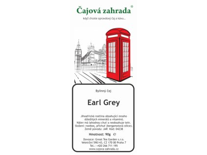 Rooibos sypaný čaj Earl Grey
