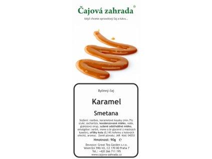 Rooibos sypaný čaj Karamel Smetana