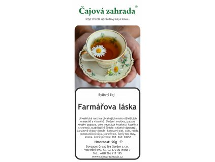 Rooibos sypaný čaj Farmářova láska