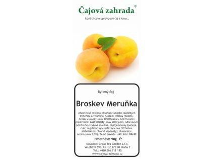 Rooibos sypaný čaj Broskev Meruňka