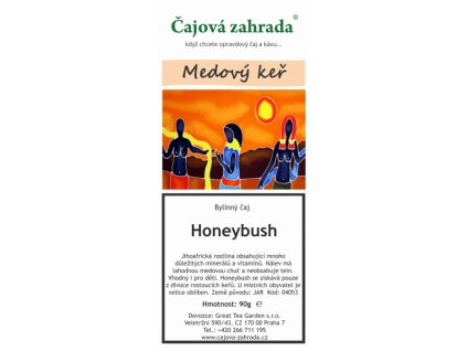 Honeybush červený sypaný čaj_Medový keř