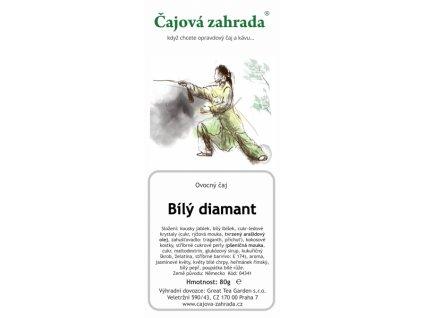 Ovocný sypaný čaj Bílý diamant