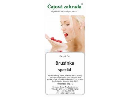 Ovocný sypaný čaj Brusinka speciál