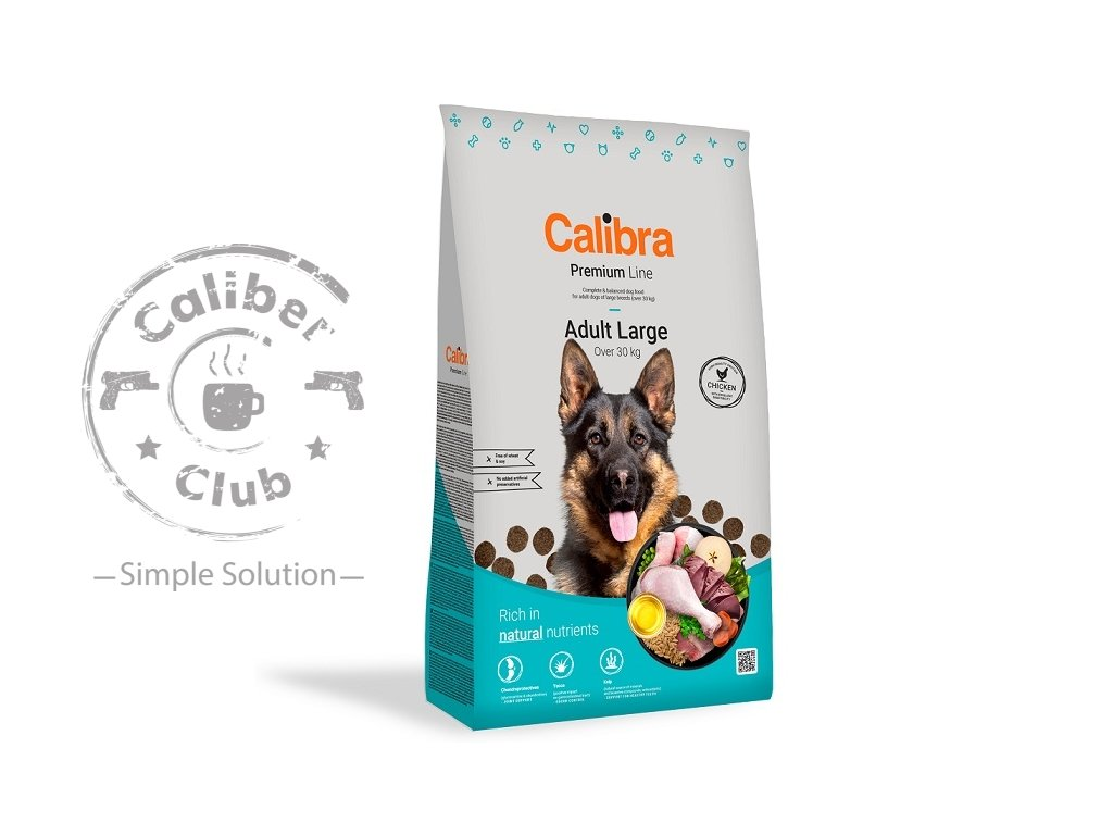 Granule Calibra Dog Premium Line Adult Large 12 kg NEW