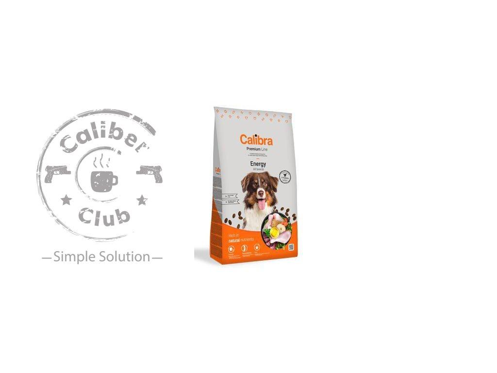 calibra dog premium line energy 12 kg new