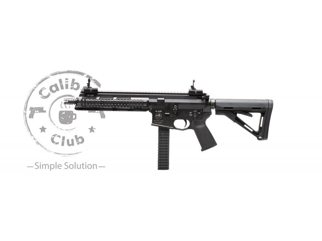 V AR 9mm Luger
