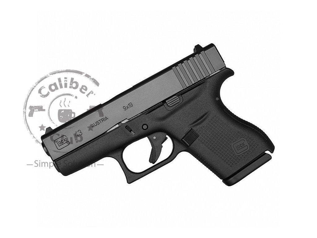 Glock 43 (9mm Luger) - pistole samonabíjecí