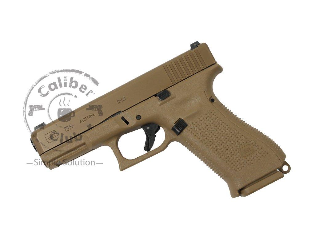 Glock 19X Gen5 (9mm Luger) - pistole samonabíjecí