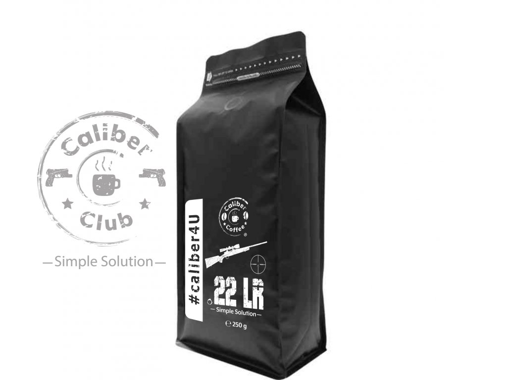 Caliber Coffee® .22 LR