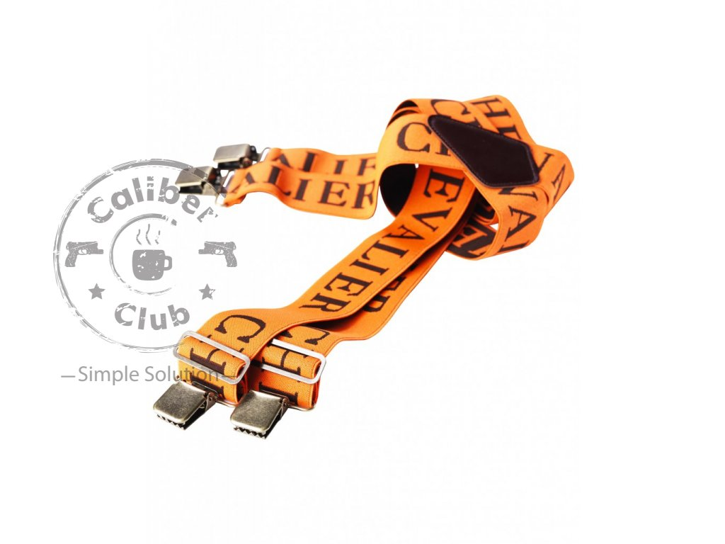 Kšandy Chevalier SUSPENDERS ORANGE