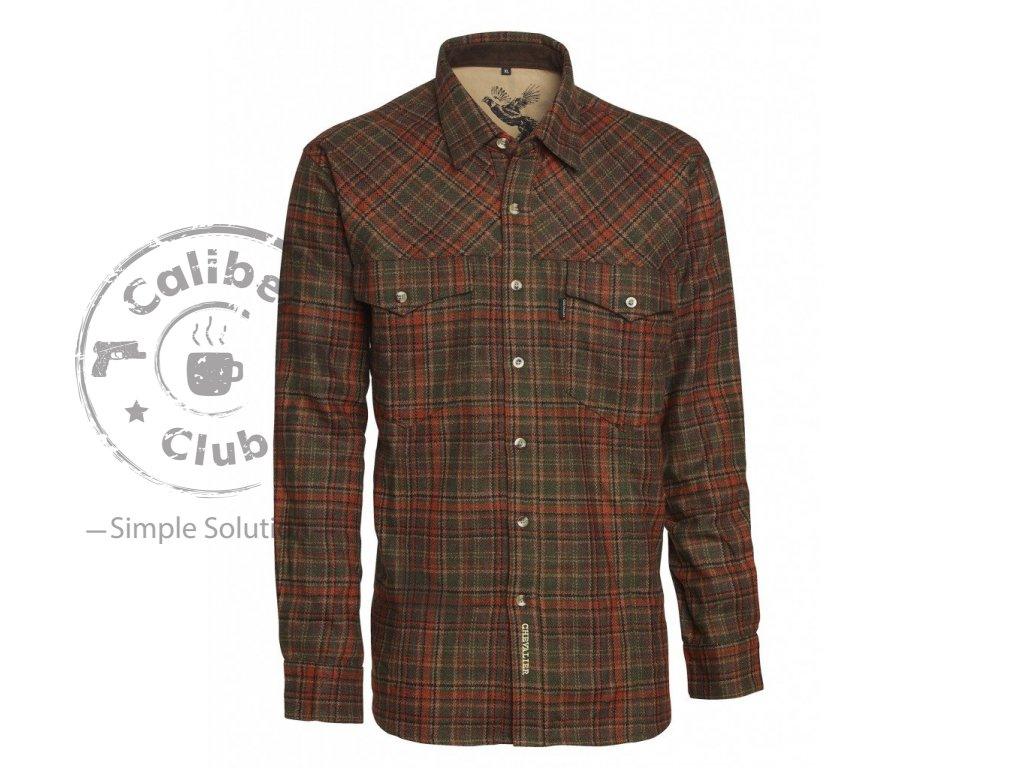 Chevalier lovecká košile Woolmix