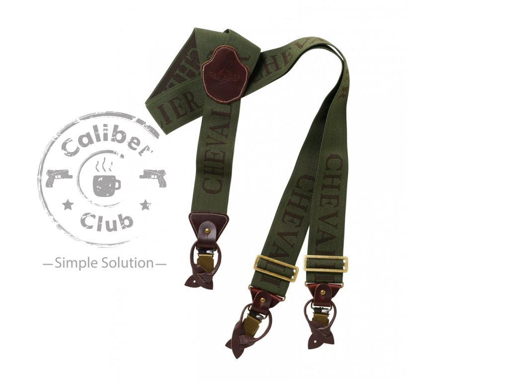 Kšandy Chevalier SUSPENDERS GREEN