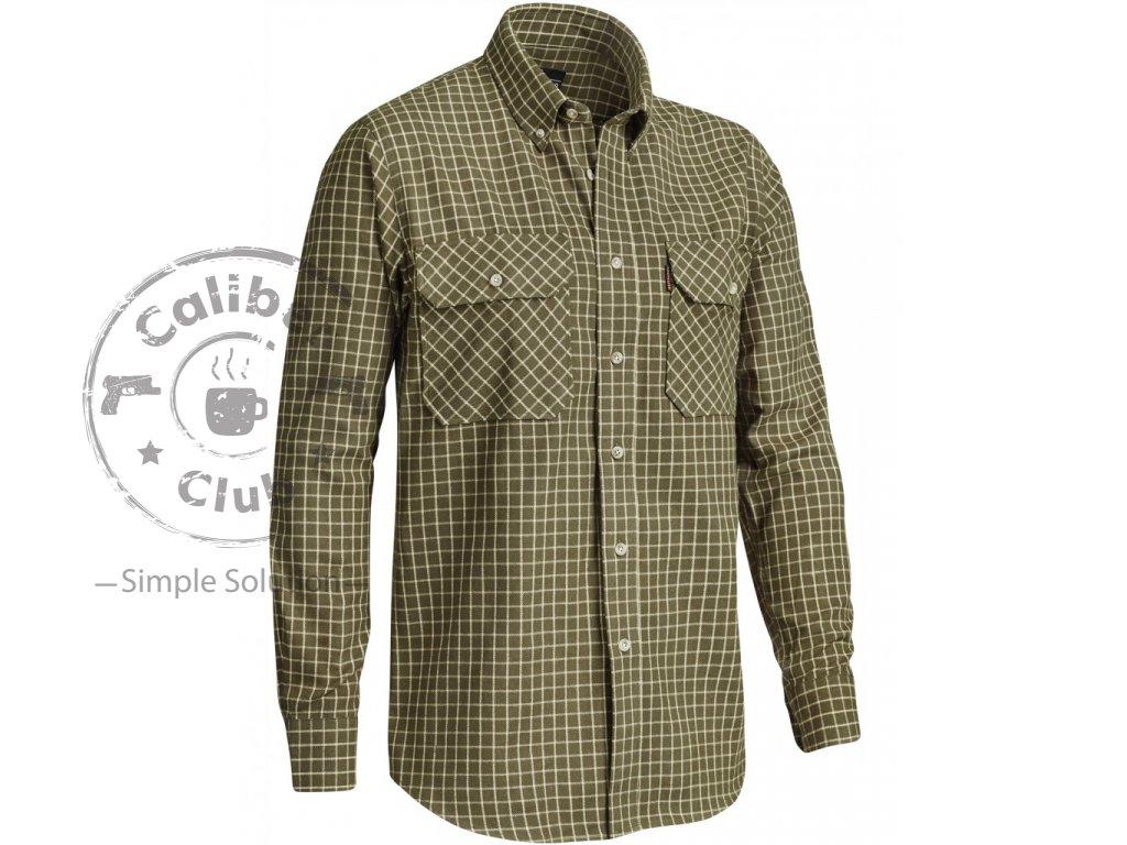 Košile Chevalier Naim Flannel Shirt