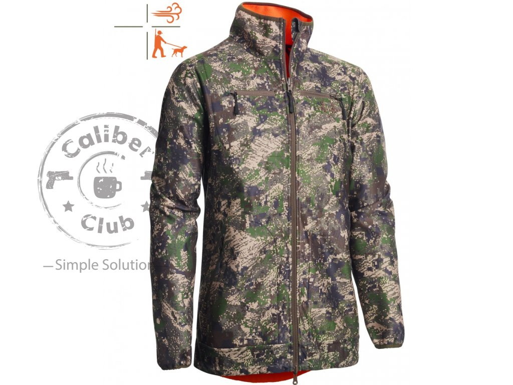 Bunda Chevalier Pixel Camo Reversible WB Coat