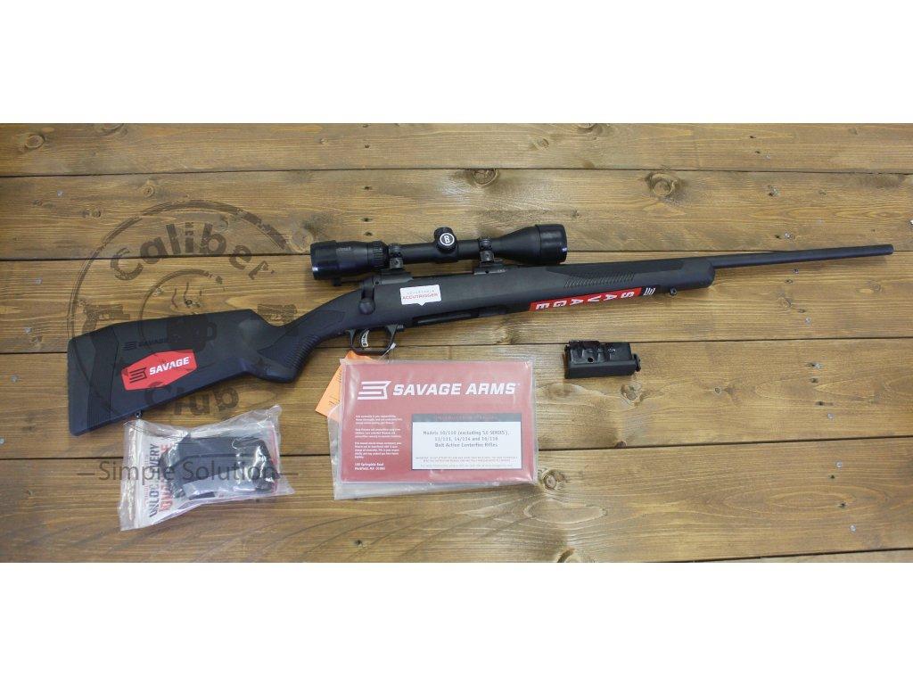 Puška opak. Savage Arms, Mod: 110 Engage Hunter XP - set s optikou 3-9x40mm