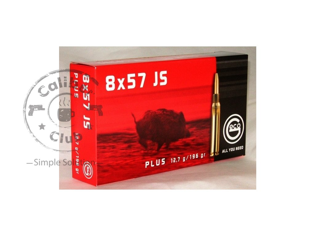 8x57 js geco plus 12 7 g original