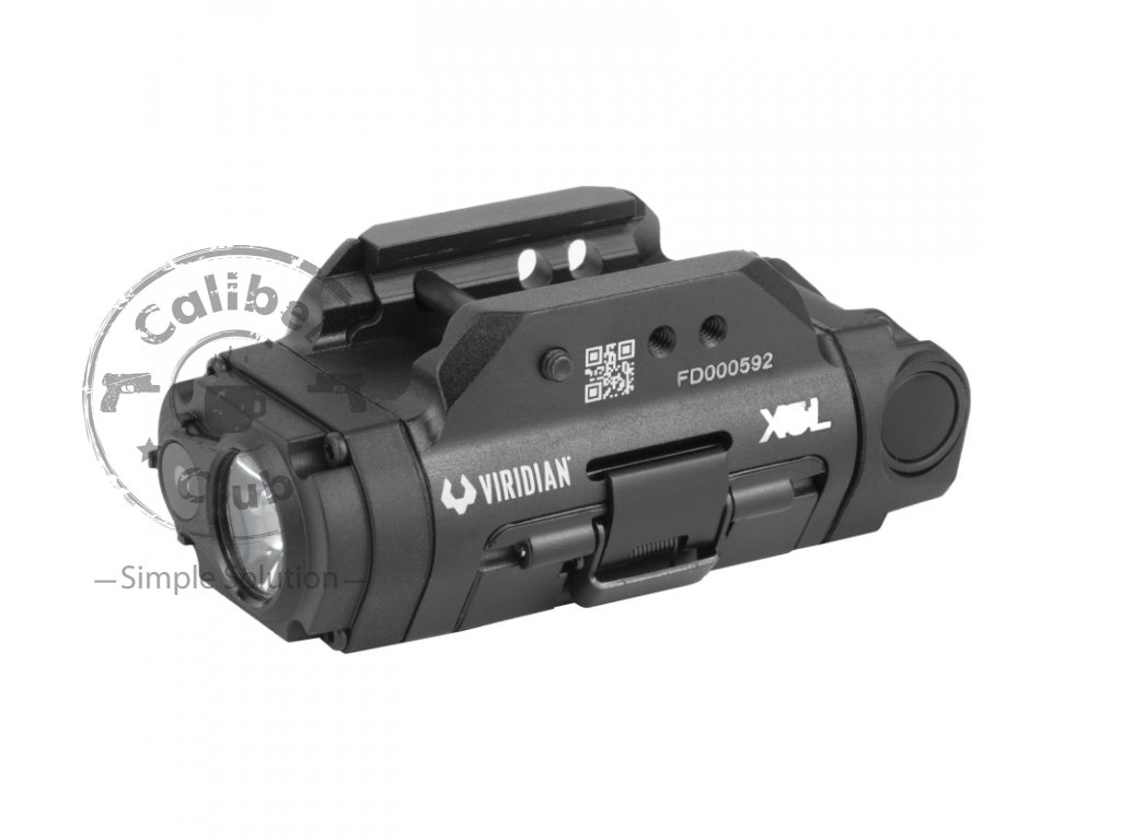 viridian weapon technologies x5l gen 3 universal mount green laser with tactical light 500 lumens