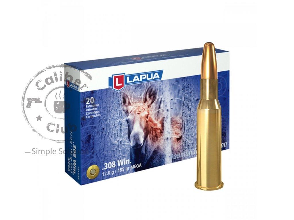 kulový náboj Lapua 308Win Mega 12g
