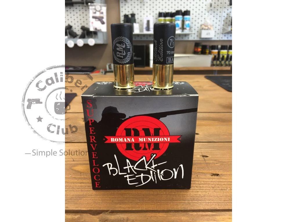 Black edition brokové náboje RM Romana Munizioni