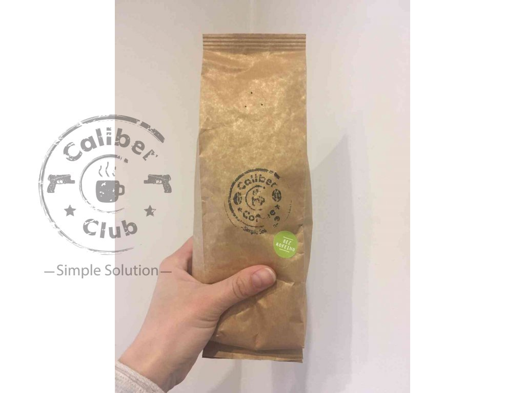 359 caliber coffee columbie bez kofein 250g