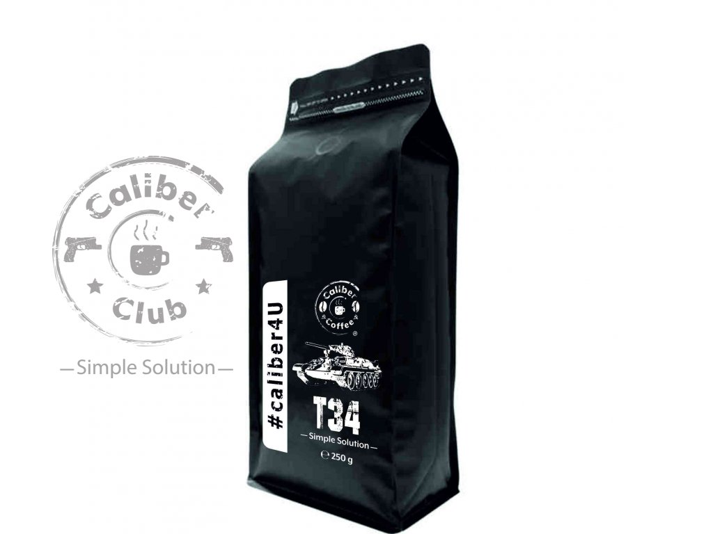 401 caliber coffee t34 250g zrnkova kava