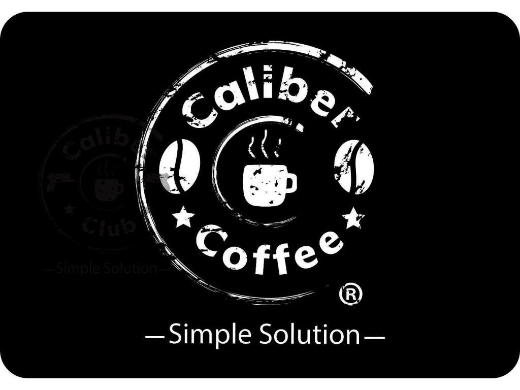 278 cistici podlozka na zbran s logem caliber coffee