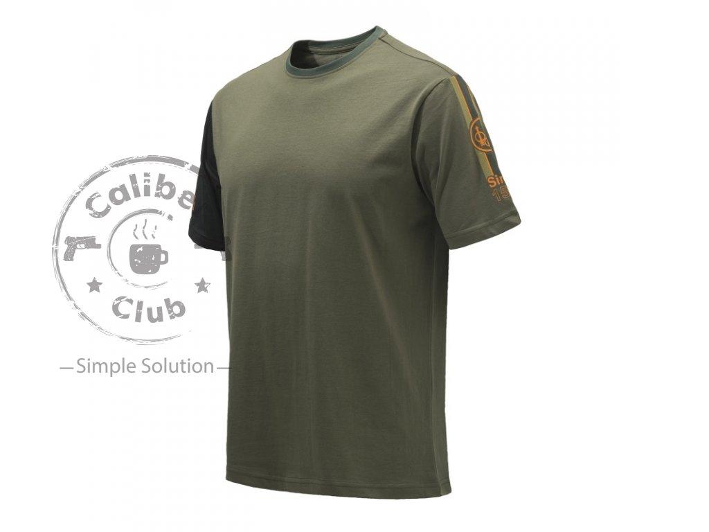 t shirt beretta victory corporate ts342 zelený