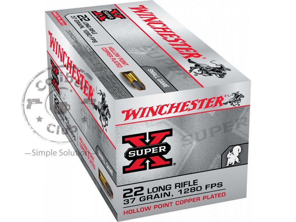 winchester super x 22lr 37gr 50pk