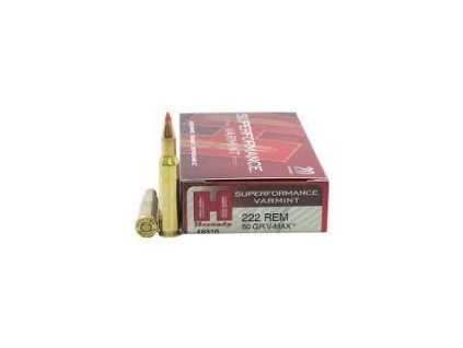 Náboj kulový Hornady, Superformance, .222 Rem., , 50GR, V-MAX SPF