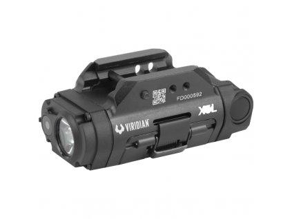 viridian weapon technologies x5l gen 3 universal mount green laser with tactical light 500 lumens