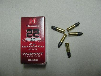 Malorážkový náboj-Hornady, Varmint Express, .22 LR, 40GR, LRN