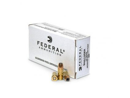 naboj kulovy federal classic 9mm luger 147gr hi shok jhp