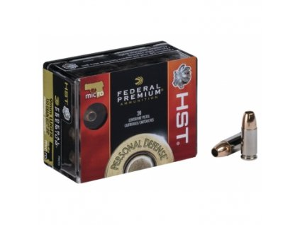 naboj kulovy federal personal defense 9mm luger 147gr jhp