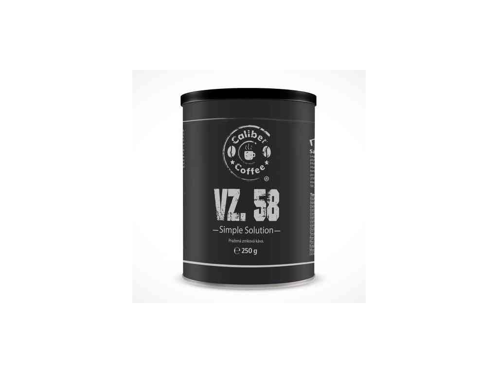 Caliber Coffee® VZ.58 - plechovka, espresso - 250g