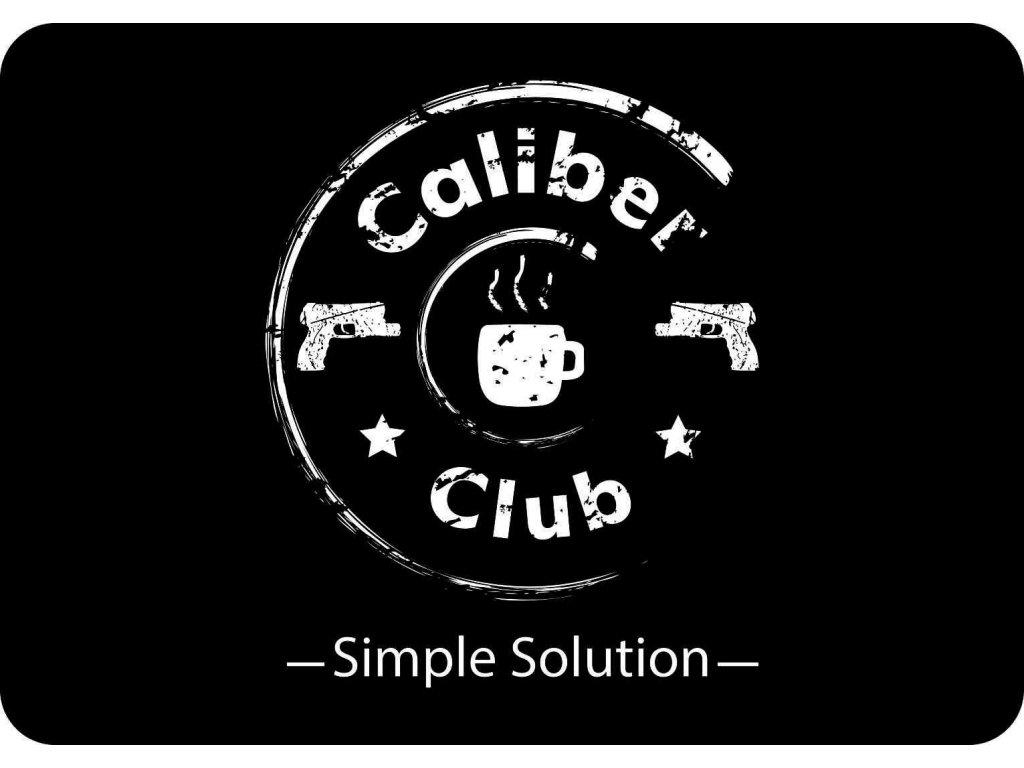 Čistící podložka na zbraň s logem Caliber Club