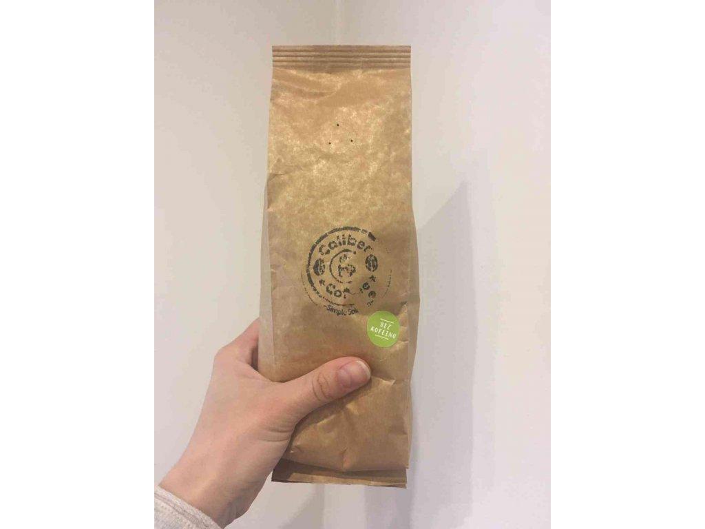Caliber Coffee® bez kofein zrnková káva 250g - Kolumbie
