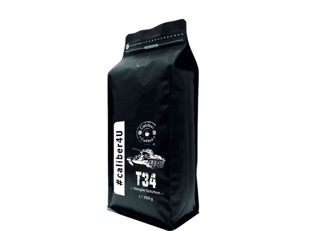 Caliber Coffee® T34 zrnková káva - 250g