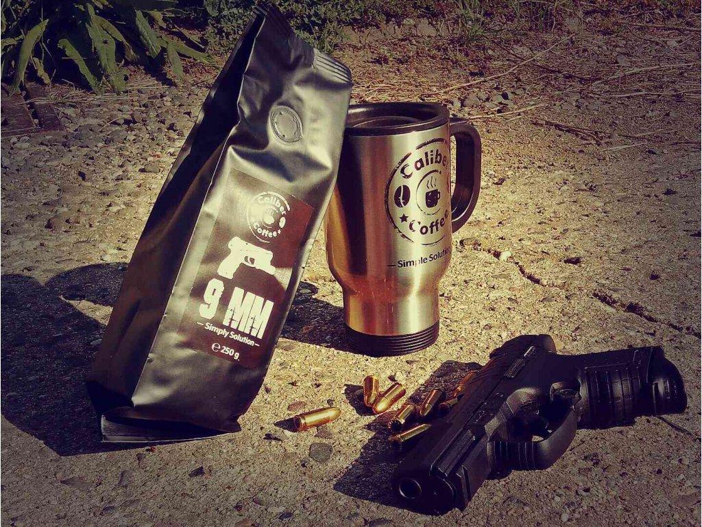 Caliber Coffee® termo nerez cestovní hrnek 0,4L