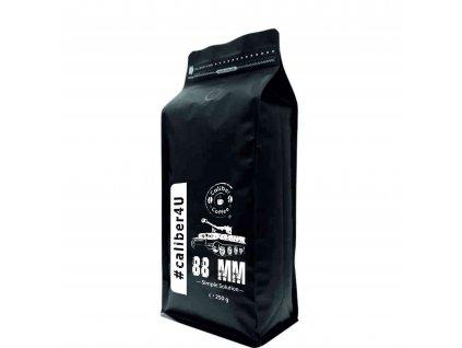 """Caliber Coffee® Panzer 88mm """"Tiger"""" zrnková káva 250g - PNG"""