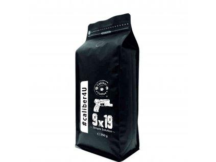 Caliber Coffee® 9mm zrnková káva 250g