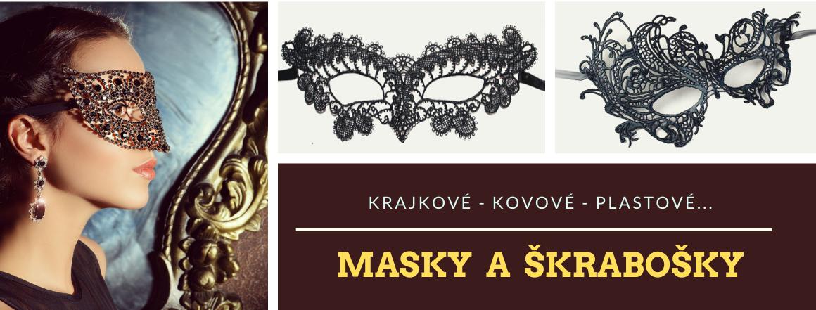 Krajkové masky a škrabošky