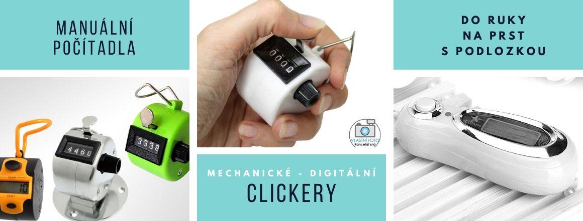 MEchanické a digitální ruční počítadla