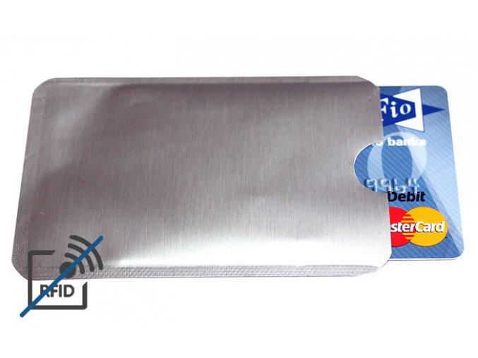 RFID block obal na platební kartu