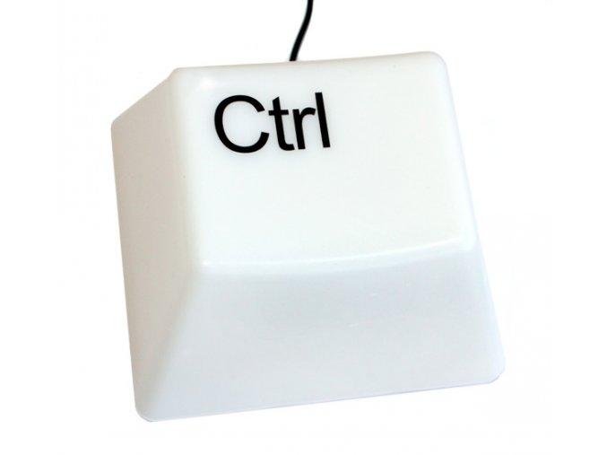 CTRL klávesa noční lampička na USB a baterie 01