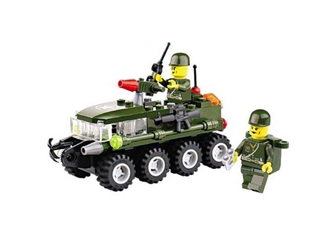 stavebnice Army s vojáky 01