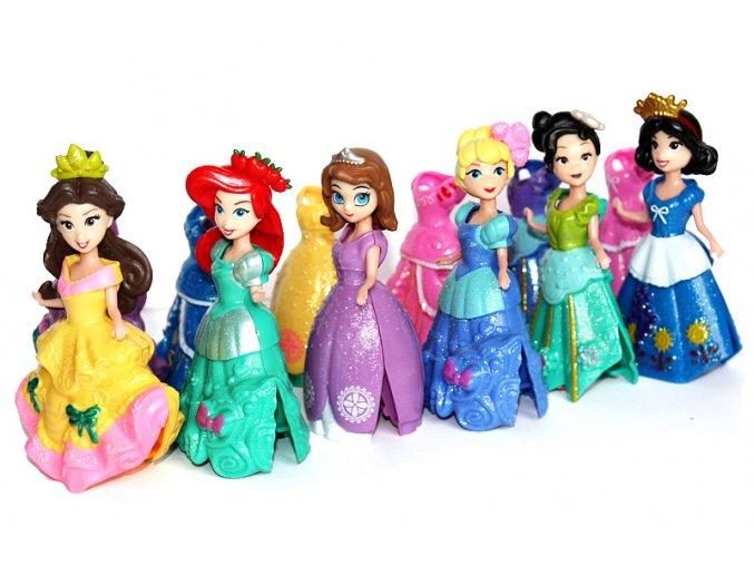 Panenky princezny na klip PEARL 01