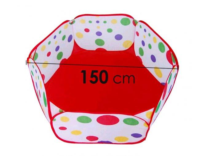 Bazén na míčky INDOOR nez koše 150 cm