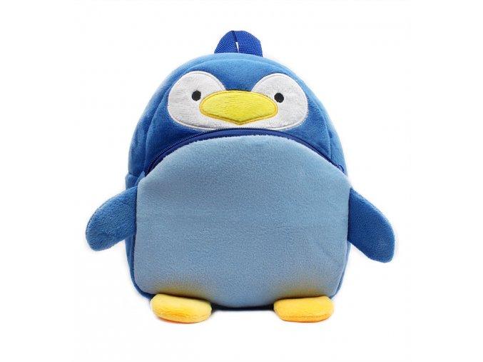 Batoh pro děti Tučňák modrý 01