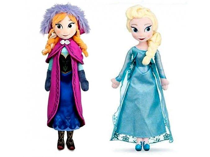 Plyšové panenky Anna a Elsa