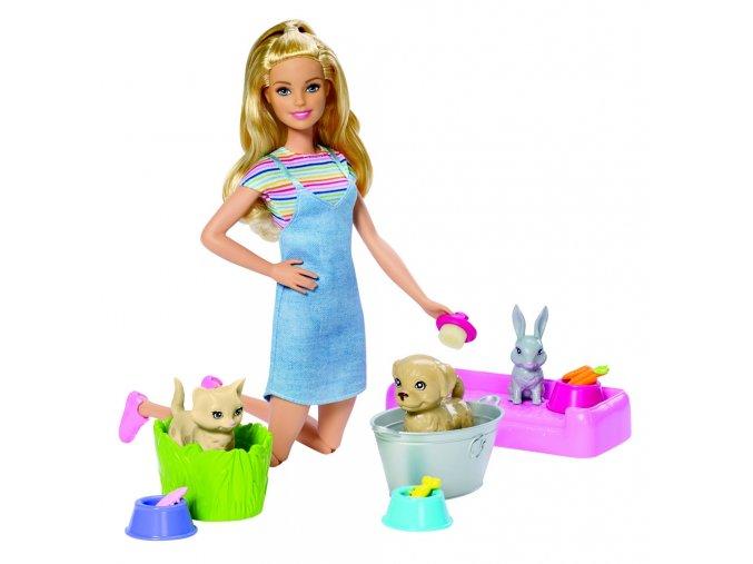 Barbie koupání zvířátek 2